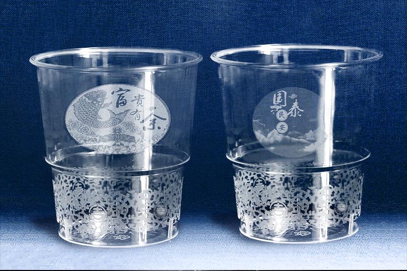 一次性水晶杯